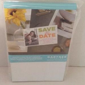 Gartner Studios Printable Save the Date Magnets 30